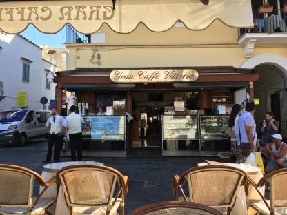 Gran Caffe Vittoria Porton ostoskadulla